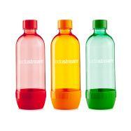 Sodastream Lahev Tripack 1l Orange/Red/Green - 1