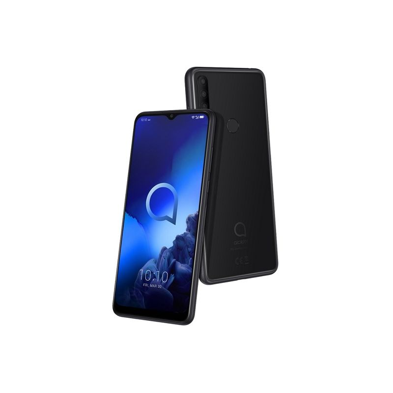 Alcatel 3X 2019 6/128 Black (5048U) - 1