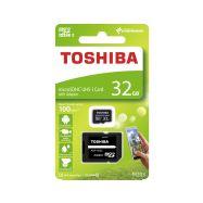 Toshiba microSDHC 32GB CL10 UHS1 + adaptér - 1