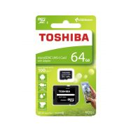 Toshiba microSDXC 64GB CL10 UHS1 + adaptér - 1