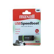 Maxell USB FD 16GB 2.0 Speedboat black - 1