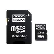 Goodram MicroSDHC 32GB UHS1 + adaptér M1AA - 1