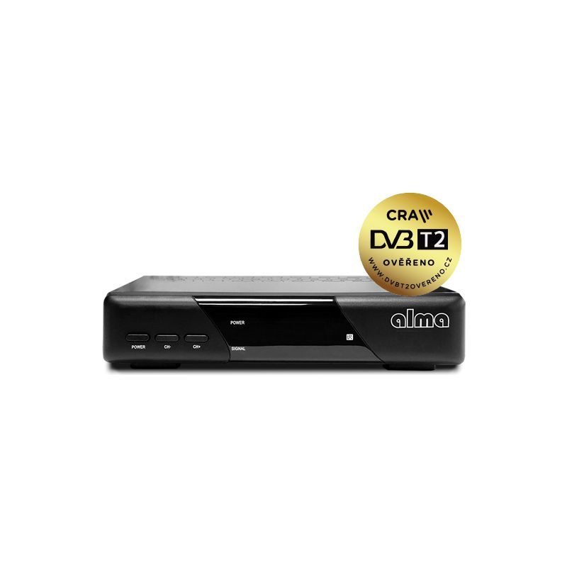 Alma 2820 HD přijímač DVB-T2 HEVC H.265 - 1