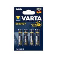 Varta LR03 Energy AAA 1,5V-alkalická baterie - 1