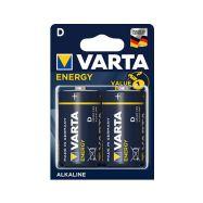Varta R20 Energy typ D 1,5V-alkalická baterie - 1